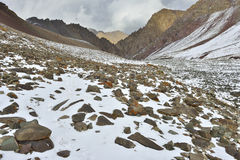Himalayan toneellandschap Royalty-vrije Stock Foto