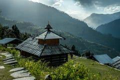 A Himalayan Traditional House stock photo