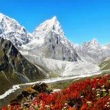 Himalayan Trail, Everest, Autumn, Himalayas Stock Photo