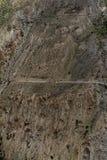 Himalayan Trekrutt Royaltyfria Foton