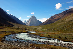 Himalayan valley Stock Image