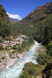 Himalayan Valley Royalty Free Stock Photo