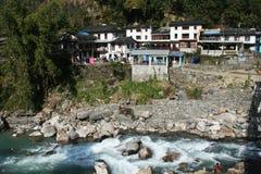 Himalayan village Stock Photo