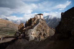 Himalayan Watchtower royalty free stock photography