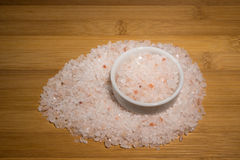 Himalayan zoute kristallen van Passiebloem Royalty-vrije Stock Afbeeldingen