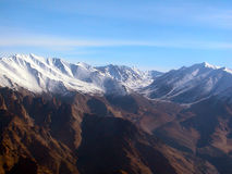 Himalayanbergen stock afbeelding