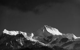 Himalayanpiek in Nepal Stock Fotografie