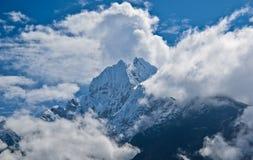 Himalayas. Views of Himalaya peaks from the Everest Base camp trek Stock Photography