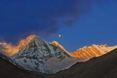 Himalayas. Imagem de Stock
