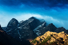 Himalayas. Mountain in summer time Royalty Free Stock Images
