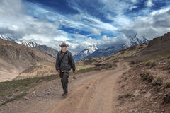 Himalayas arkivbild