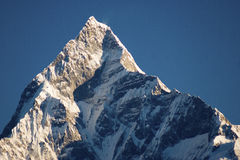 Himalayas. A magnificent sunrise is in Himalayas, Nepal Royalty Free Stock Photography
