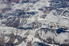 Himalayas aerial view Stock Images