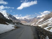 The Himalayas: Baralacha Pass Stock Photo