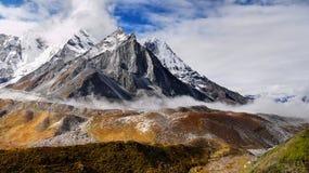 Himalayas, Everest Region, Autumn, Sunrise Stock Photos