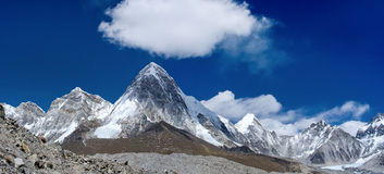 Himalayas.  Everest region, Nepal Royalty Free Stock Image