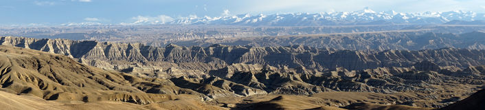 Himalayas i Tibet Royaltyfria Foton