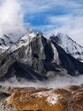 Himalayas Khumbu region Arkivbild