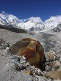 Himalayas. Khumbu valley near Mt Everest, Nepal Royalty Free Stock Image