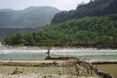 Himalayas landscape Royalty Free Stock Photo