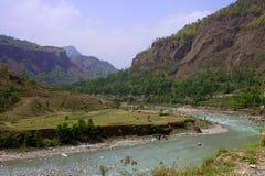 Himalayas landscape Royalty Free Stock Image