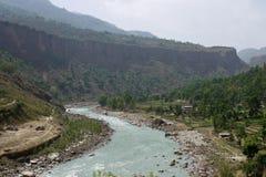 Himalayas landscape Royalty Free Stock Photos