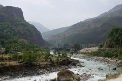 Himalayas landscape Stock Photos