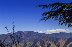 Himalayas landscape, Mussoorie Royalty Free Stock Photography