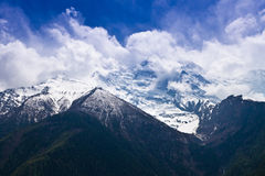 Himalayas landscape, Nepal Stock Photo