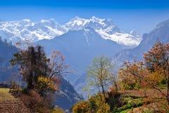 Himalayas landscape, Nepal Stock Images