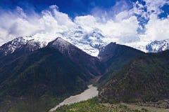 Himalayas landscape, Nepal Royalty Free Stock Photo