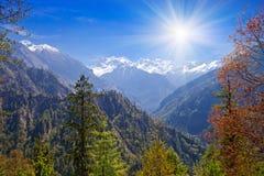 Himalayas landscape, Nepal Stock Photography