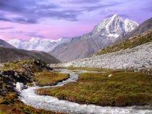 Himalayas, Landscape Twilight Stock Photography