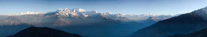 The Himalayas Royalty Free Stock Images