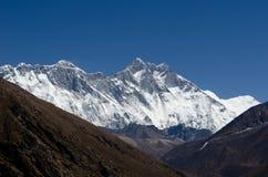 Himalayas Lhotse Everest fotografia de stock