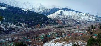Himalayas majestosos no secundário-continente fotografia de stock royalty free