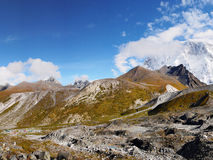 Himalayas, montanhas, Nepal Imagens de Stock