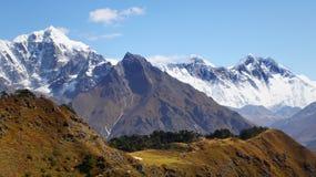 Himalayas, montanhas, Nepal Imagens de Stock Royalty Free