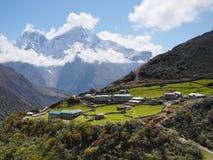 Himalayas, montanhas, Nepal Fotos de Stock
