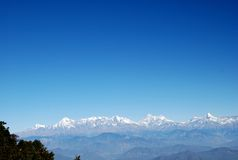 Himalayas and Mount Everest, Nepal Royalty Free Stock Photography