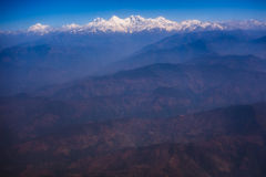 Himalayas mountain range Royalty Free Stock Photo