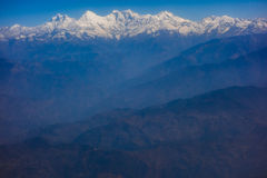 Himalayas mountain range Stock Photography