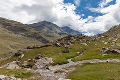Himalayas mountains. Himalayas mountain in province Ladakh. India Royalty Free Stock Photos