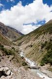 Himalayas mountains. Himalayas mountain in province Ladakh. India Royalty Free Stock Photo