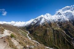 Himalayas mountains Royalty Free Stock Photos