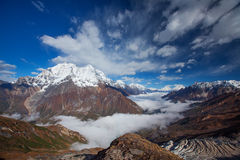 Himalayas mountains Royalty Free Stock Images