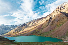 Himalayas mountains in india spiti valley royalty free stock photo