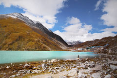 Himalayas Mountains Lake Royalty Free Stock Photography
