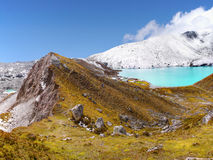 Himalayas, Mountains, Lake, Nepal Stock Image