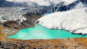 Himalayas Mountains, Peaks Glacier Lakes, Nepal Royalty Free Stock Photography